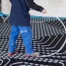 Travaux de régulation d'un plancher chauffant
